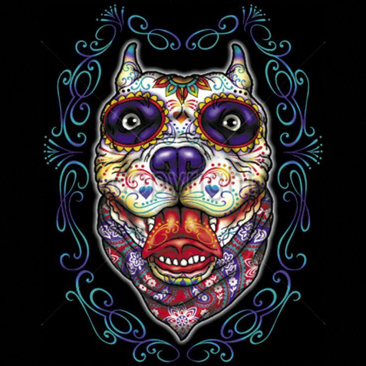 Animal sugar skull tattoo - photo#44