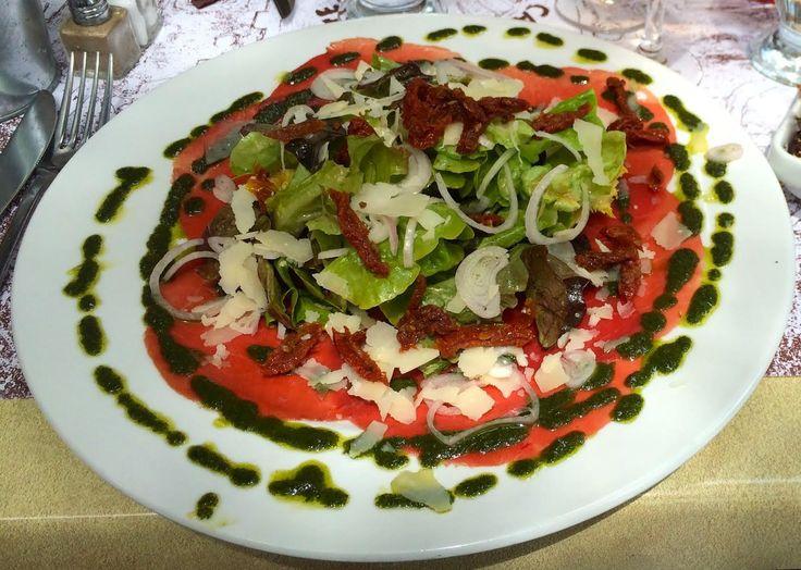 Beef Carpaccio Salad Recipe - Only Provence