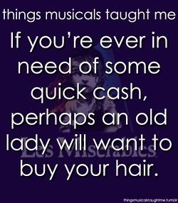 things musicals taught me: Les Misérables