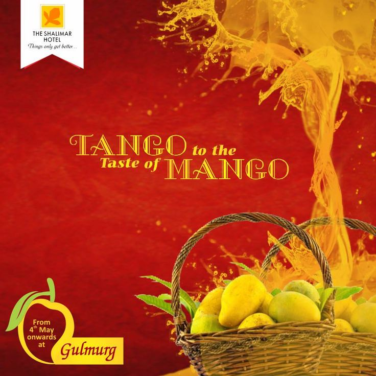 """Gulmurg is poised to take on May's mercury with """"Mango Tango"""". Discover the versatility of the sun speckled national fruit in myriad ways. Be it the sun kissed Hand Churned Mango Ice-cream, Baked Mango Yoghurt or Soft Mango Cheesecake and many more Mangolicious offerings available from 4th May 2015 to 31st May 2015. Treat yourself to the Mango Tango and beat the searing heat."""