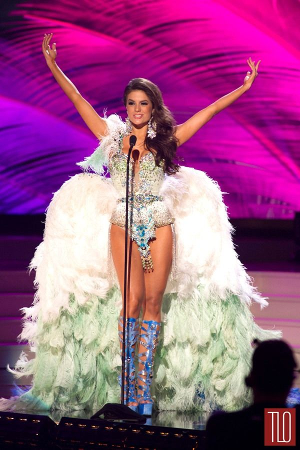 Miss Universe National Costumes 2014, Part 1: Bird Women & Show Girls! | Tom & Lorenzo Fabulous & Opinionated / Miss Brazil