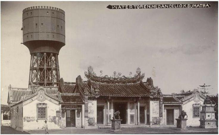 Watertoren te Medan_circa 1900