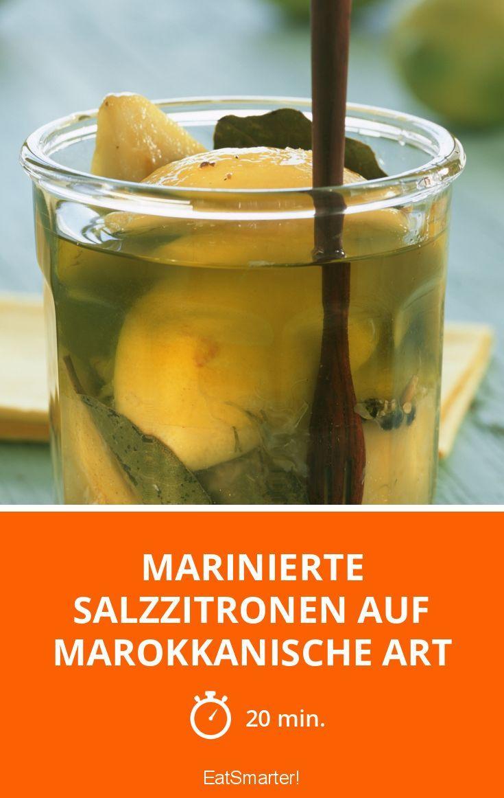 Marinierte Salzzitronen auf marokkanische Art - smarter - Zeit: 20 Min. | eatsmarter.de