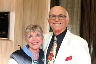 Gavin MacLeod, and His Wife, Patty
