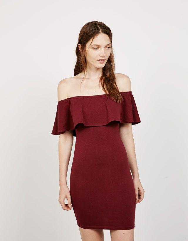 Dresses - NEW COLLECTION - WOMAN - Bershka United Arab Emirates