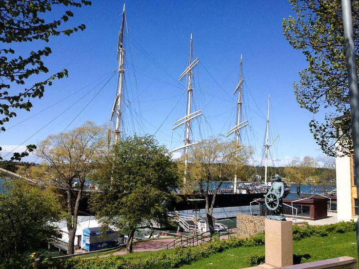 Museumship Pommern Mariehamn Aland
