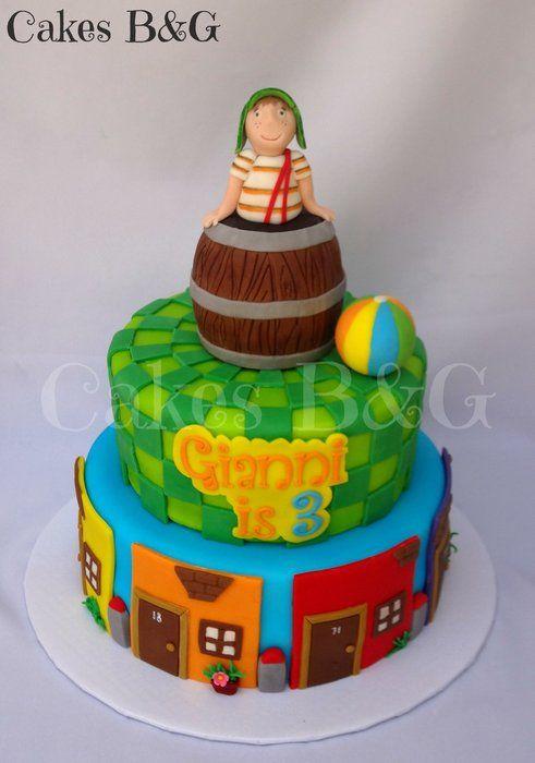 El chavo del Ocho themed cake - by cakesbg @ CakesDecor.com - cake decorating website