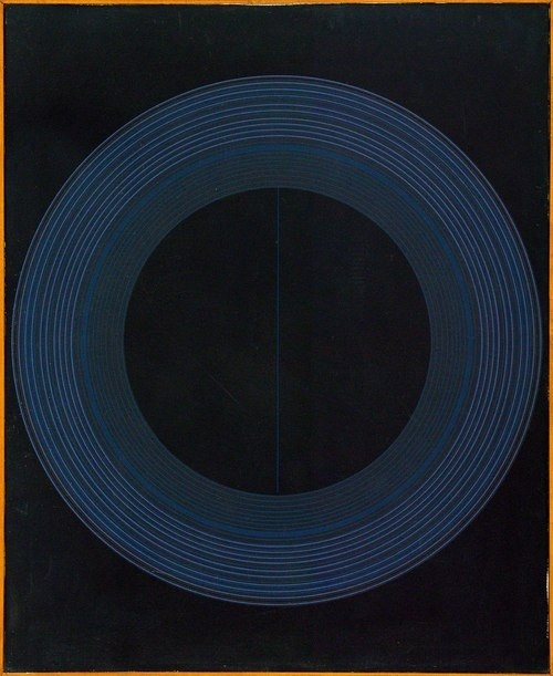 Growing Indigo: YAMA-BATO Ralph Hotere Black Painting acrylic on canvas signed Hotere, dated 1969 and inscribed Black Painting in brush point.
