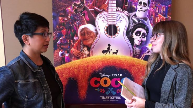 Coco Interview with Gini Cruz Santos conducted by KIDS FIRST! Film Critic Michelle C. #KIDSFIRST! #PixarCocoEvent #Disney #Pixar