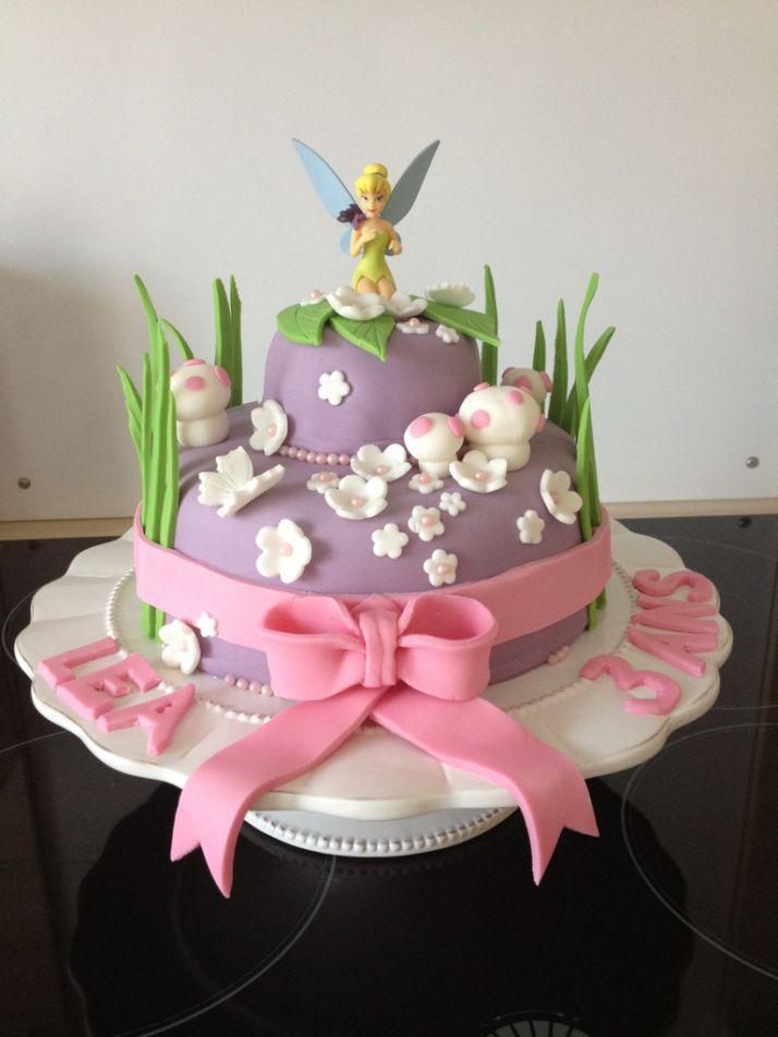 Gâteau fée clochette                                                       …