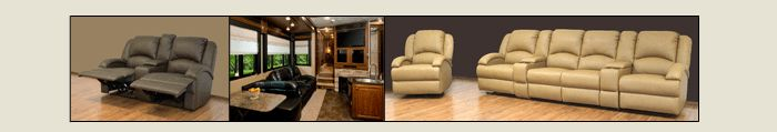 RV Recliners and Sectionals
