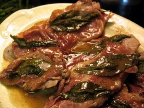 This veal saltimbocca recipe is full of taste and flavor.