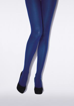 We love this cobalt colour. Shop Jonathan Aston's tights at www.tightsup.dk