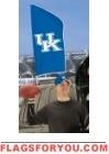 """Kentucky Wildcats Tailgate Flag 42"""" x 20"""""""
