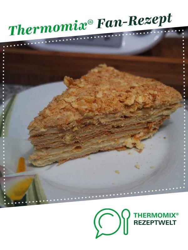 Russische Torte Napoleon Rezept Russische Torten Thermomix Torten Thermomix Rezepte
