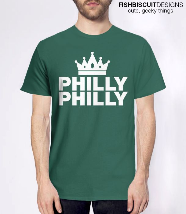 Philly Philly T-Shirt Philadelphia Eagles shirt. Conference Champions Super Bowl football shirt.