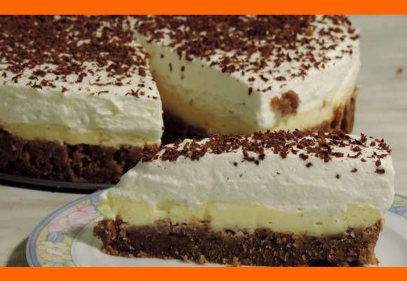 Torta hattrick (gaštany,orechy,vanilka)