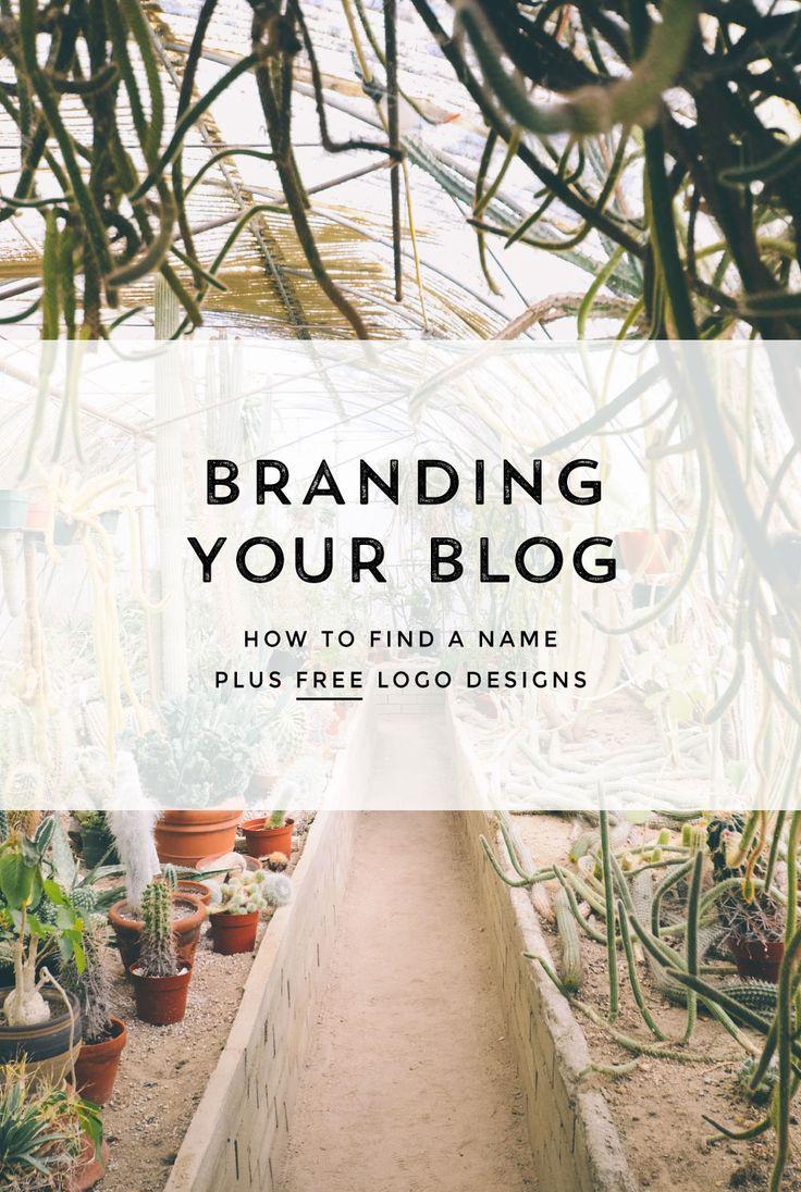 Naming Your Blog or Business + Free Logos - Creatives in Transit