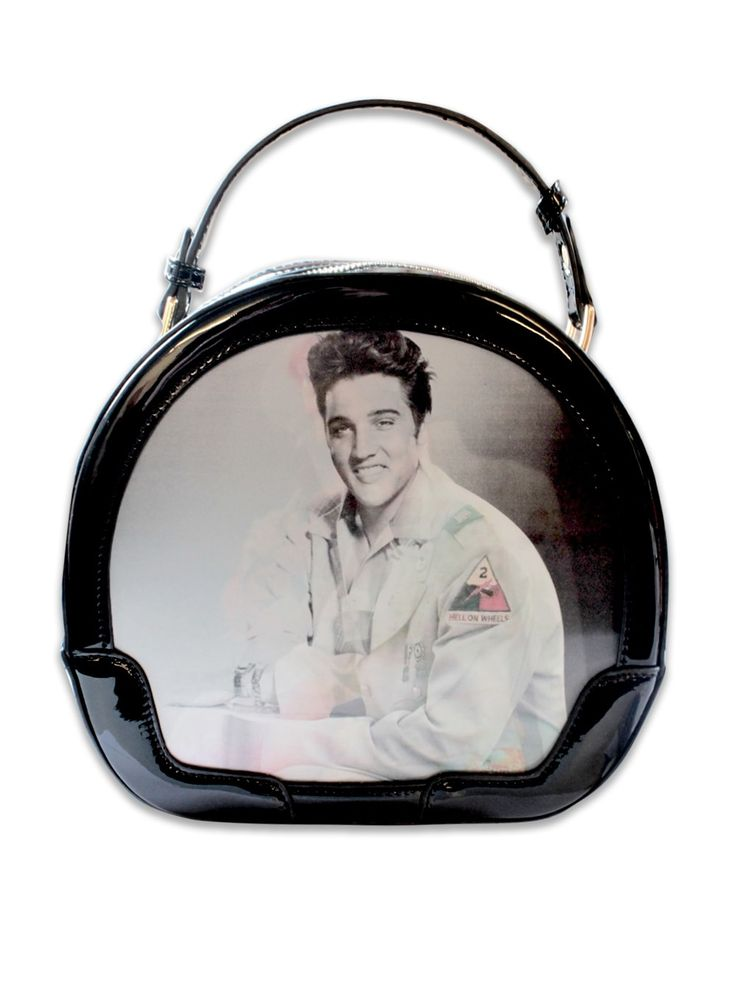 Elvis Black Vanity Case Case From Vivien of Holloway