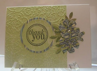 a beautiful embossed card by@Ann KrucekCards By Anne, Anne Flanigan, By Anne Krucek, Mom Anne