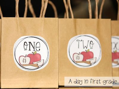 A day in first grade: Apple Weeks start TOMORROW!! {plus TONS of Freebies!!!}