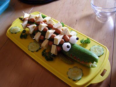 Ninas kleiner Food-Blog: Fingerfood zum Kindergeburtstag  Gute Idee auch für eine Pyjama-Party!