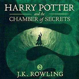 "Another must-listen from my #AudibleApp: ""Harry Potter and the Chamber of Secrets, Book 2"" by J.K. Rowling, narrated by Jim Dale."