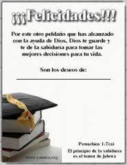 Resultado de imagen para oraciones para graduados de universidad