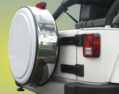 Jeep Wrangler Jk Masterseries Tire Cover Stainless