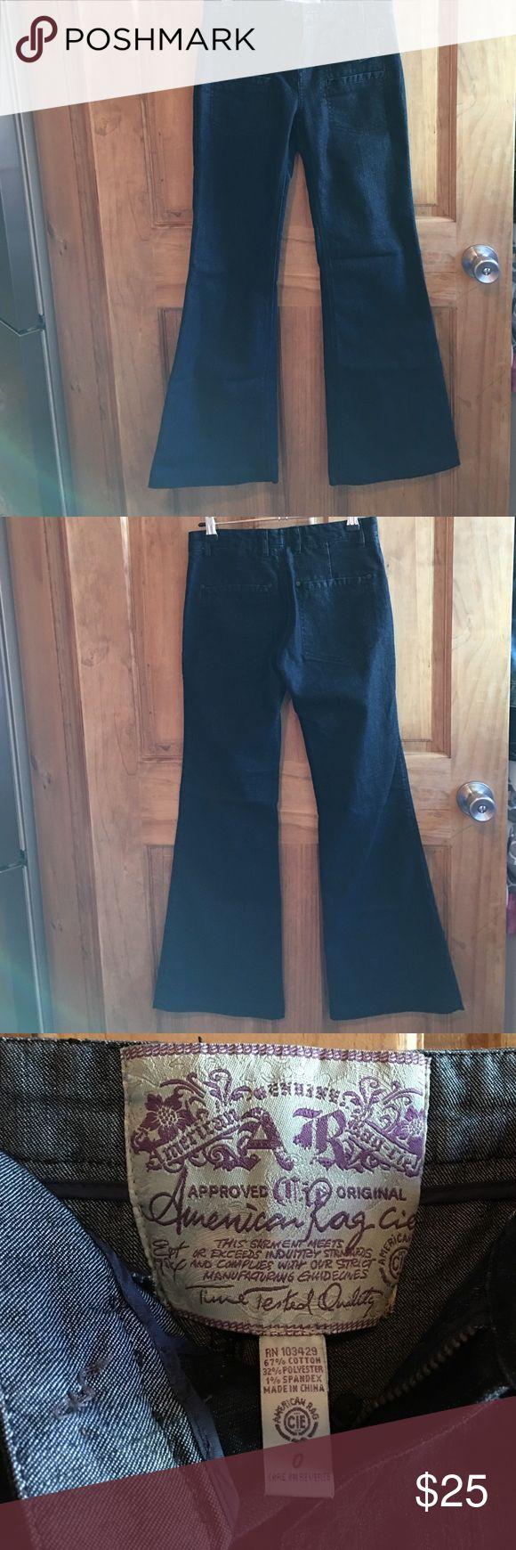 NWOT American Rag jeans ✨Never worn NWOT American Rag dark wash flare blue jeans. 👖 American Rag Jeans