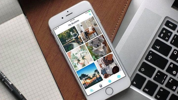 Now this would be a handy app for  making those travel dreams a reality!  Squirrel bucket list savings app