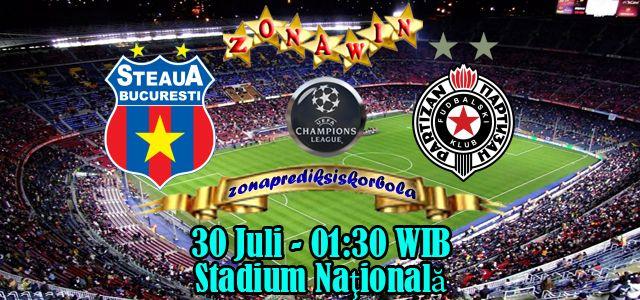 Prediksi Steaua Bucuresti vs Partizan Belgrade 30 Juli 2015