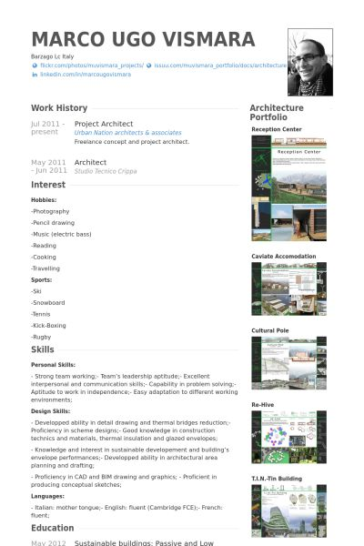 Software Architect Sample Resume 31 Best Resume' Images On Pinterest  Page Layout Portfolio Ideas .