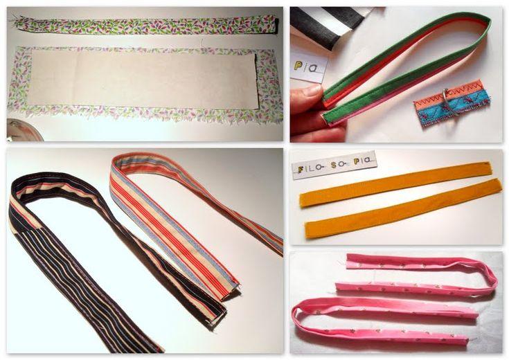 filo-so-pia: MaNiCI e borse (COME si fa) tutorial per realizzare i manici per borse di stoffa...e altri tipi di manici (riciclo)