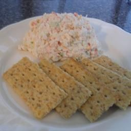 Poor Man's Crab Dip on BigOven: This is a cold crab dip recipe that is made with immitation crab meat. Being from Maryland, I know there is nothing like real Blue Crab chunks, but lets face it.. it's expensive. I made this recipe up because I was tired of buying pre-made crab dips in the store and constantly being dissatisfied with the flavor. I hope you enjoy this easy Poor Man's Crab Dip.
