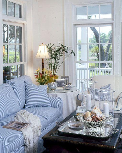 carolina island house plan from coastal living magazine - Coastal Living Rooms