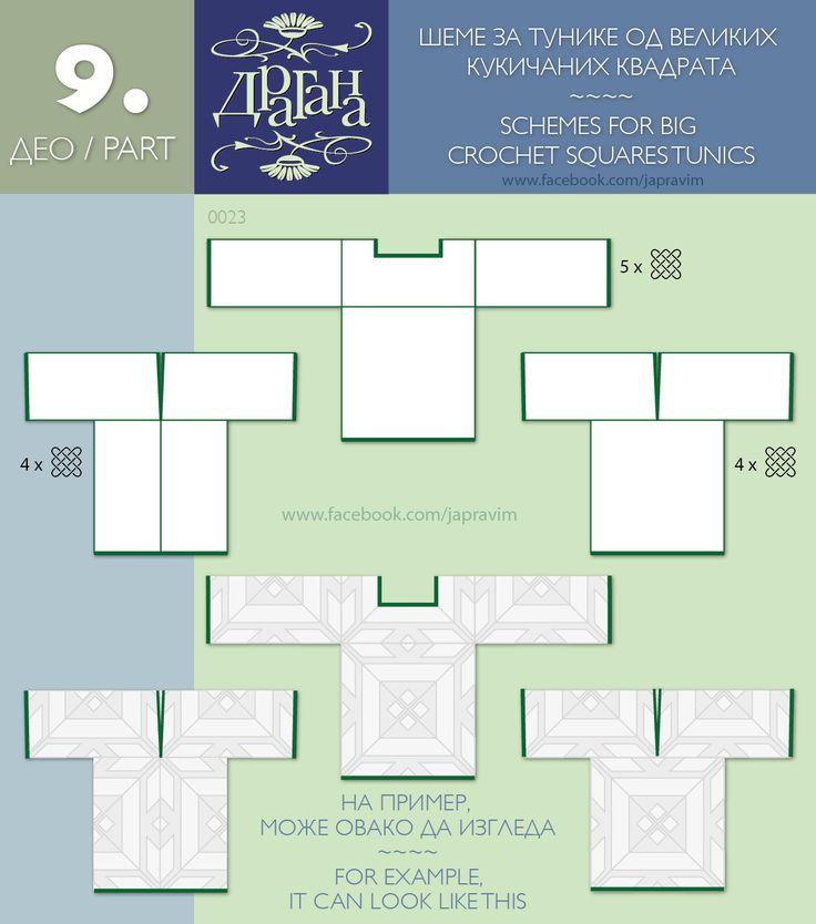 How to make tops from giant squares courtesy of facebook.com/japravim