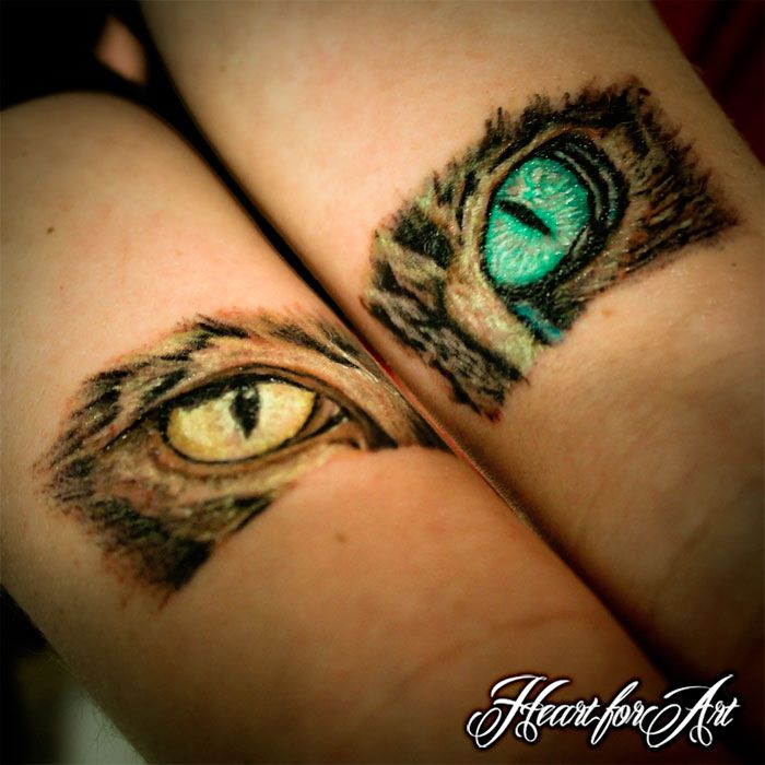 Cat Cover Up Tattoos Cats Eyes Tattoo Next Tattoos Tattoos