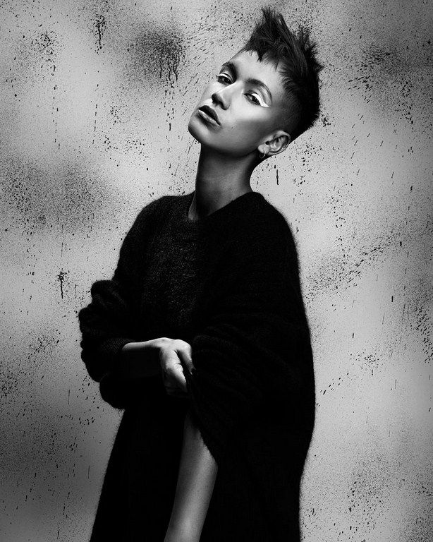 Короткая женская стрижка, short womans hair cut, Fellowship Project X team, Ashleigh Hodges