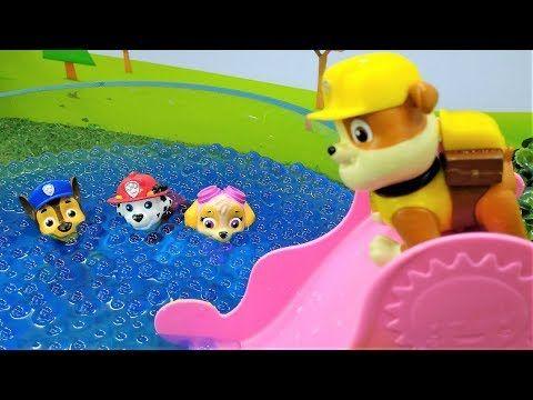 Paw Patrol  Kids videos & games for kids with toys  Paw patrol toys. Щенячий патруль игрушки. - YouTube