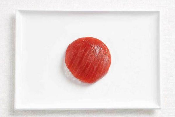 Japonya Ton balığı, pilav