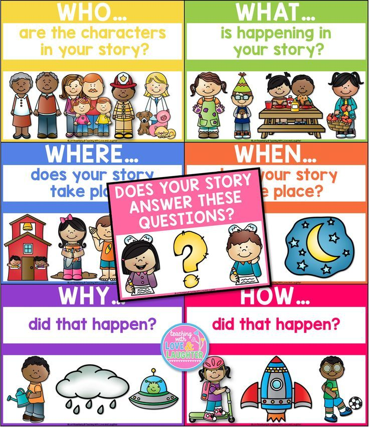 information support your stories