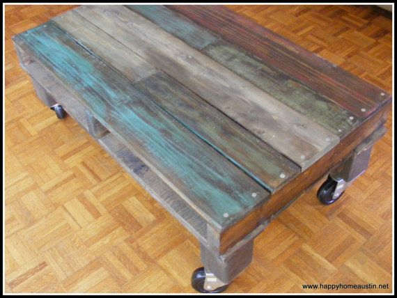 Paint And Stain On Reclaimed Pallet Wood By HappyHomeAustin 25500