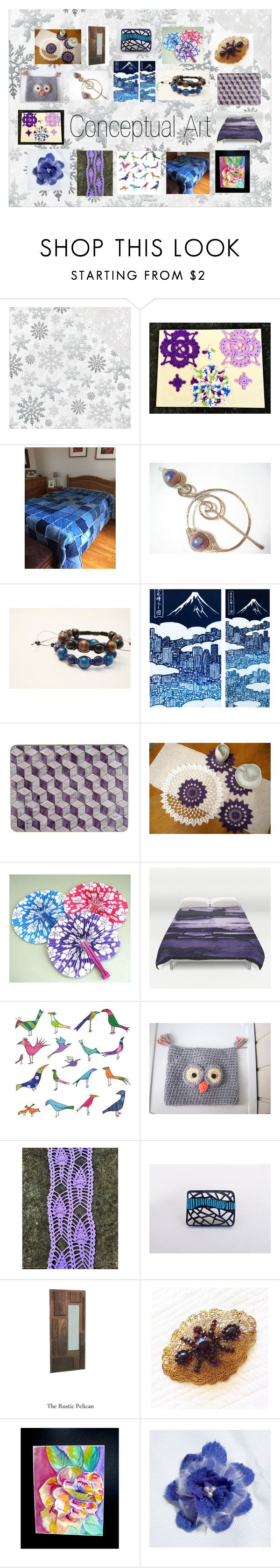 """""""Conceptual Art: Modern Gifts Collection"""" by paulinemcewen on Polyvore featuring Kaisercraft, modern and contemporary"""