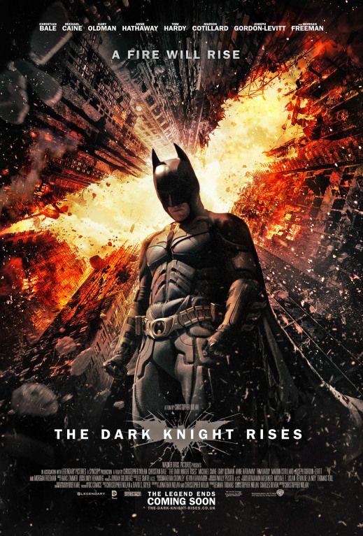 Batman: O Cavaleiro das Trevas Ressurge Poster #PipocaComBacon @pipoca_combacon https://www.facebook.com/pipocacombacon2012