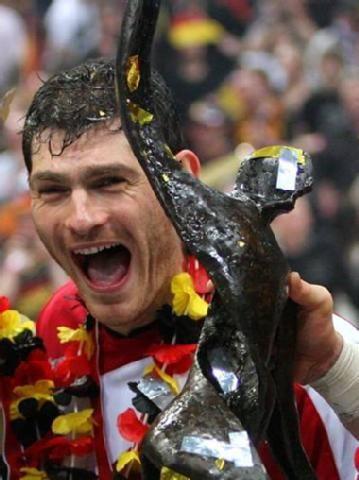 Weltmeister Henning Fritz - Torhüter bei #teambuschi. #tagdeshandballs