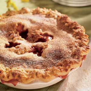 Apple pie or cherry pie? No need to decide. This fruit pie recipe combines the best of both.