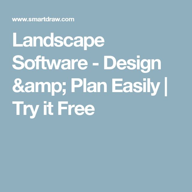 Landscape Software - Design & Plan Easily | Try it Free