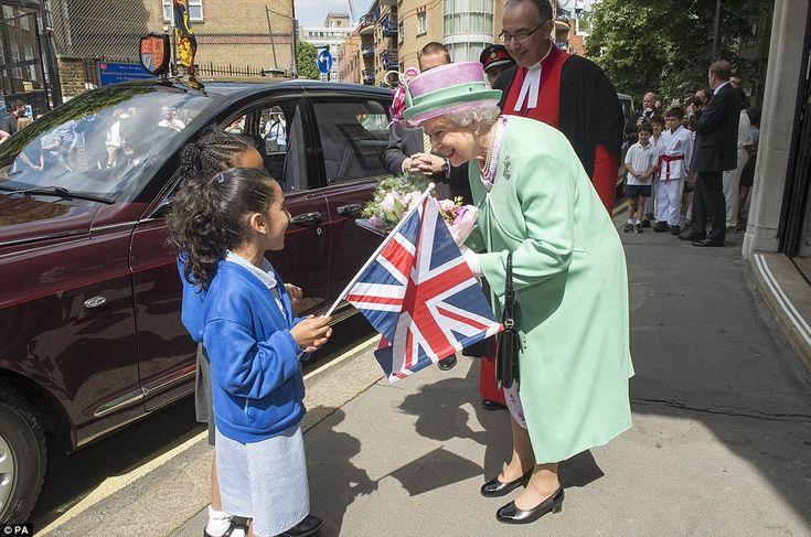 The Queen at Westminster School 12 June 2014