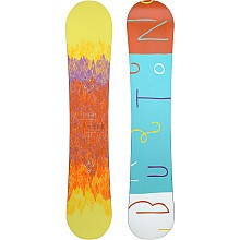 Burton Feather Snowboards are great for new and experienced boarders with its innovative convex shape that allows for great responsiveness and float on any type of terrain.  #SportsAuthorityGiftList